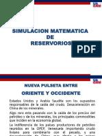 SIMULACIÓN MATEMÁTICA DE RESERVORIOS