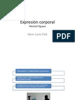 Expresión Corporal. Michael Piguave