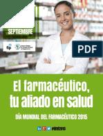 Cartel por el día Mundial del Farmacéutico