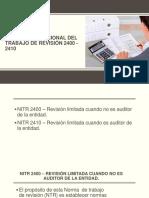 Norma Internacional Del Trabajo de Revisión 2400