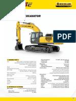 Nhce Hydraulic Excavator e505c Evo