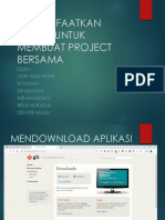 Memulai Github untuk pengerjaan Project  Bersama