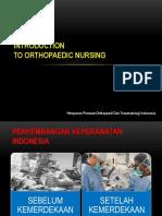 Introduction to Orthopaedic Nursing