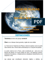 TECT PLACAS I (Estructura Tierra)
