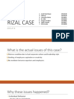 Rizal Case - Group 8