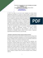 Ordenamiento Urbano en Torno a La Operaci__n de La L__nea 12 Del Metro en La Ciudad de M__xico