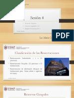 Sesi n 4 - Reservas Grupales y D L 919