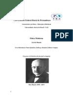 Lei de Planck e Estudo Dirido