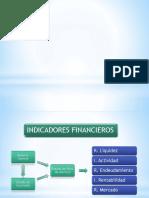 Indicadores Financieros (Ultimo)