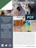 04.19 SPCA SWMI Newsletter