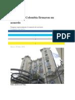 Mercosur y Colombia Firmaron Un Acuerdo
