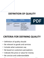 Hbs 201 Quality Management System