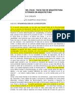 Análisis Husserl_fenomenologia de La Percepción
