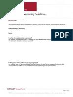 Worksheet for Overcoming Resistance (1)