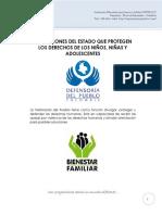 Instituciones Que Defienden Los Derechos de Los Niños
