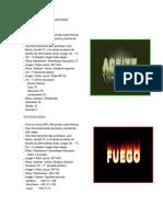 Efectos de Texto en Photoshop Sise