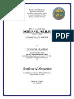 Certificate in Award