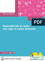 1° AÑO ARTE TALLER DE MÚSICA APRENDIENDO EL CANTO CON CAJA EL CANTO DELIRANTE  DOCENTE.pdf