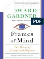 Frames of Mind the Theory of Multiple Intelligences