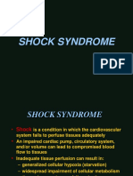 Shocy Syndrome - Bagian Anestesiologi FK-UNHAS