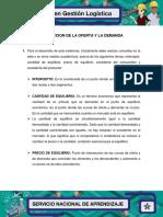 Ejercicio practico proyección de oferta y demanda