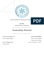 Seasteading Materials