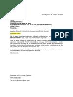 Carta a Proveedores 15.10.2018