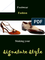 Footwear fashion - Staking your signature style (Free book)