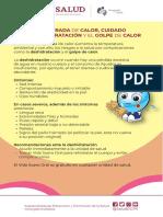 Golpe_ de Calor y Deshidratacion Volante