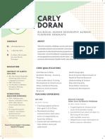 Carly Doran - NNN Resume