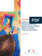 Creating an Integrated Efficient Early Care and Education System to Support Children and Families a State by State Analysis