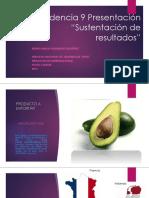 """Evidencia 9 Presentación """"Sustentación de Resultados"""""""
