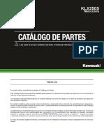 CATALOGO DE PARTES KLX250.pdf