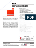 HCA-2_4_8 and D Series Conventional Panel_Datasheet