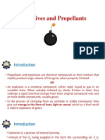 Explosives & Propellants