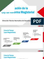IMPLEMENTACION DE LA LEY DE REFORMA MAGISTERIAL 27-FEB.2017.pptx