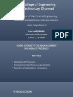 Seminar Ppt Nano