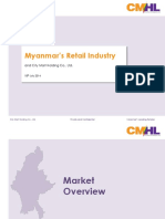 Largest Retailer in Myanmar - CityMart