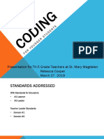 cooper coding presentation