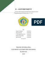 Tugas Makalah E-GOVERMEN - Nurul Akromah
