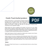 Gentle Touch Herbal Products