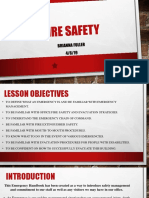 fire safety pp