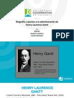 Presentacion Henry Gantt