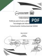 3. Politicas Administración de Técnología