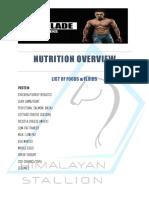 Nutrition Plan the Blade 12 Weeks by Jeet Selal 4