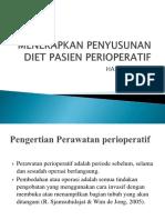 Menerapkan Penyusunan Diet Pasien Perioperatif p. Point
