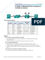 Solucion 9 2 1 3 Lab Designing and Implementing a Subnetted IPv4 Addressing Scheme