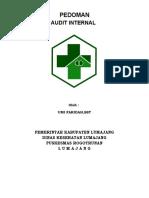 Pedoman Audit Internal