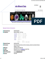 Alunite Mineral Data