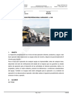 Inspeccion Preoperacional Cargador L-1100